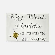 Geocaching Key West, Florida Rectangle Magnet