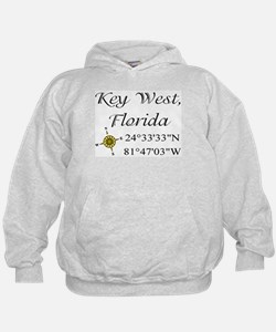 Geocaching Key West, Florida Hoodie