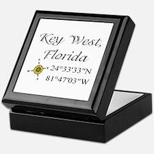 Geocaching Key West, Florida Keepsake Box
