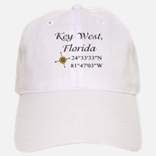 Geocaching Key West, Florida Baseball Baseball Cap