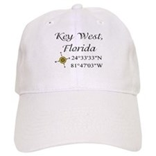 Geocaching Key West, Florida Baseball Cap