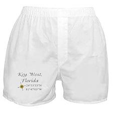 Geocaching Key West, Florida Boxer Shorts