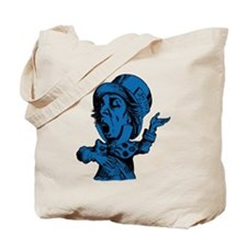 Mad Hatter Blue Fill Tote Bag