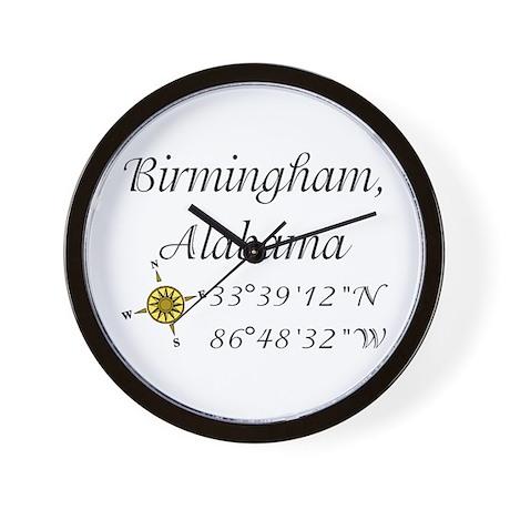Birmingham, Alabama Wall Clock