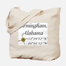 Birmingham, Alabama Tote Bag