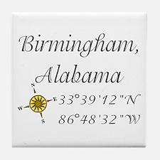 Birmingham, Alabama Tile Coaster
