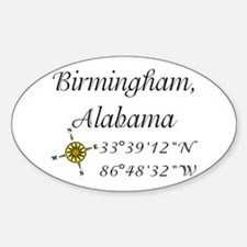 Birmingham, Alabama Decal