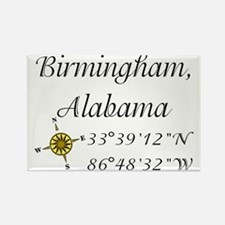 Birmingham, Alabama Rectangle Magnet