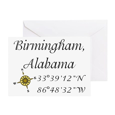 Birmingham, Alabama Greeting Card