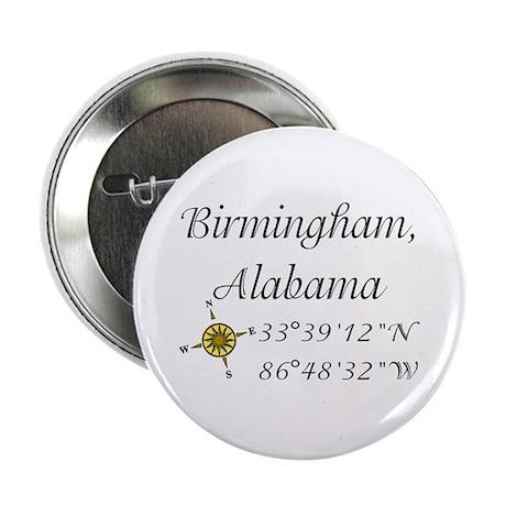 "Birmingham, Alabama 2.25"" Button"
