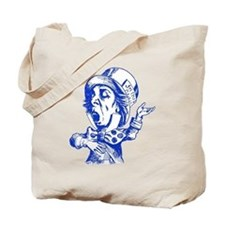 Mad Hatter Blue Tote Bag