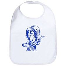 Mad Hatter Blue Bib