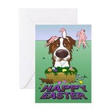 Aussie - Happy Easter Greeting Card