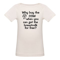 Why Buy Cow Breastmilk Free Tee