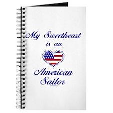 My Navy Sweetheart Journal
