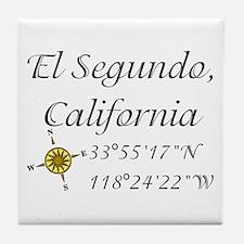 EL SEGUNDO, CALIFORNIA Tile Coaster