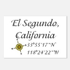 EL SEGUNDO, CALIFORNIA Postcards (Package of 8)