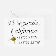 EL SEGUNDO, CALIFORNIA Greeting Card
