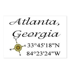 Geocaching Atlanta, Georgia Postcards (Package of