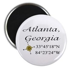 Geocaching Atlanta, Georgia Magnet