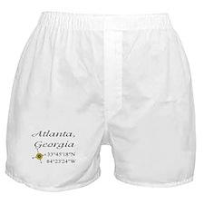 Geocaching Atlanta, Georgia Boxer Shorts