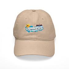 Narragansett RI - Surf Design Baseball Cap