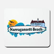 Narragansett RI - Surf Design Mousepad