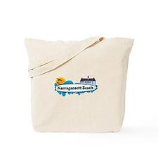 Narragansett RI - Surf Design Tote Bag