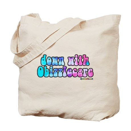 Down With Obizzlecare Tote Bag