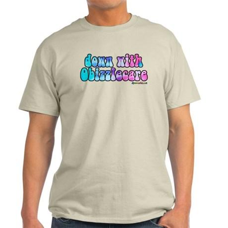 Down With Obizzlecare Light T-Shirt