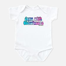 Down With Obizzlecare Infant Bodysuit