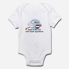 Stork Baby Netherlands USA Infant Bodysuit