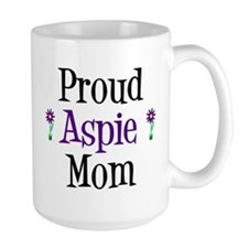 Proud Aspie Mom Mug