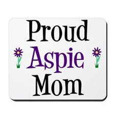 Proud Aspie Mom Mousepad