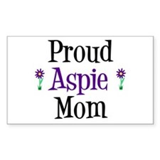 Proud Aspie Mom Decal