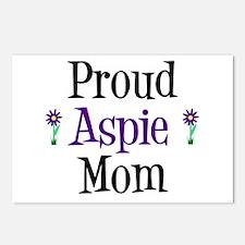 Proud Aspie Mom Postcards (Package of 8)