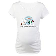 Stork Baby Nigeria USA Shirt