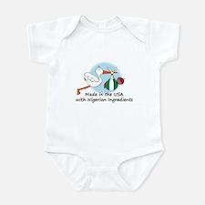 Stork Baby Nigeria USA Infant Bodysuit
