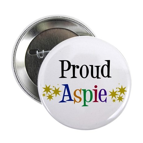 "Proud Aspie 2.25"" Button"