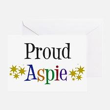 Proud Aspie Greeting Card