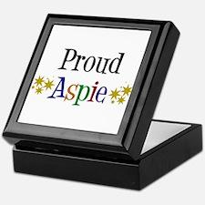 Proud Aspie Keepsake Box