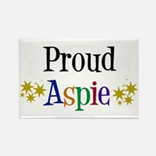 Proud Aspie Rectangle Magnet