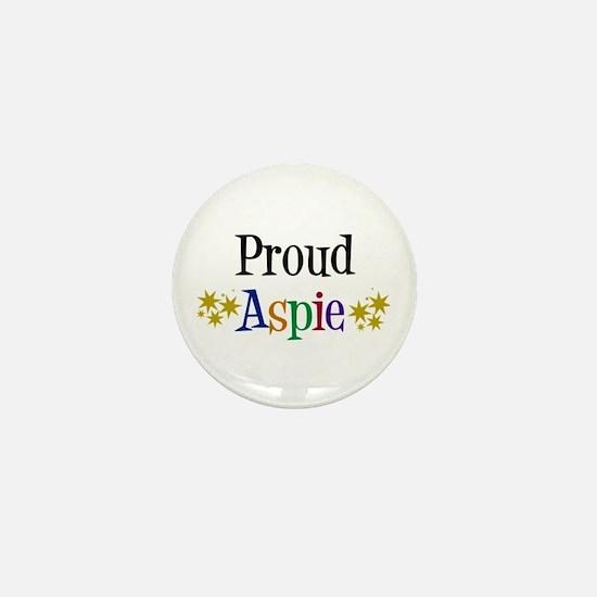 Proud Aspie Mini Button