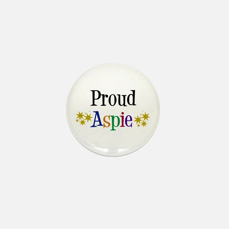 Proud Aspie Mini Button