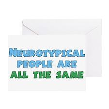 Neurotypical Joke Greeting Card