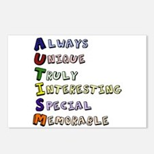 Autism Acronym Postcards (Package of 8)
