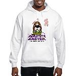Basset Hound Easter Hooded Sweatshirt