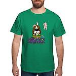 Basset Hound Easter Dark T-Shirt