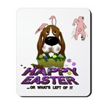Basset Hound Easter Mousepad