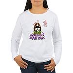 Basset Hound Easter Women's Long Sleeve T-Shirt